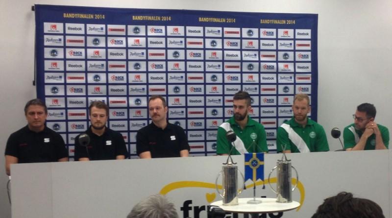 Presskonferens SM-final 2014