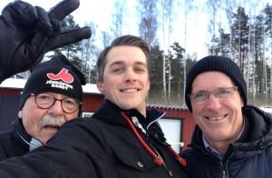 Sven-Åke Landén, Andreas Söderman och Jan Gustafsson