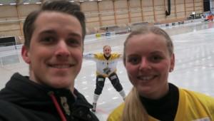 Andreas Söderman och Matilda Svenler