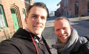 Andreas Söderman och Patrik Johansson