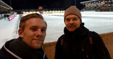 Christian Olofsson och Philip Kjellberg