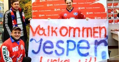 Jesper Hvornum välkomnas till Start