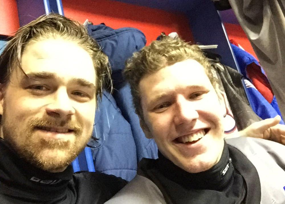Jesper Hvornum och Maxim Bolotov